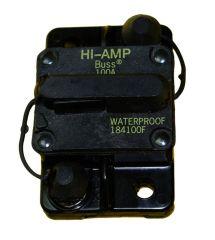Circuit Breaker, Manual Reset, 100 Amp