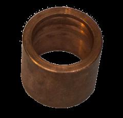 Bushing, Copper, Flush, 1 1/8 F x 7/8 C