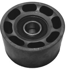 "Pulley Assy, Ø 3.90 Backside Idler 1.55"" W, Dual Bearing"