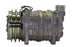 """Compressor, 10 CID, QP15, Ear, (2) V 1/2"""", 125MM, 12V, V-MIO"""