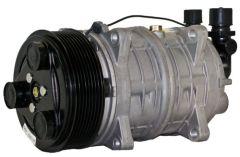 Compressor, 10 CID, QP16, Ear, PV8, 119MM, 12V, V-MIO