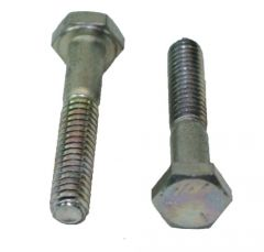 Bolt, Hex Hd, 1/4-20 x 5/8, Gr 5, Pltd