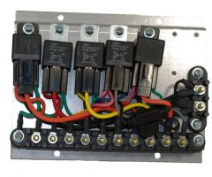 Relay Board Assy, Basic II, 3 Spd, 12V