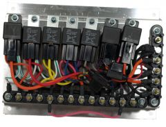 Relay Board Assy, Dual, Comp/Cond